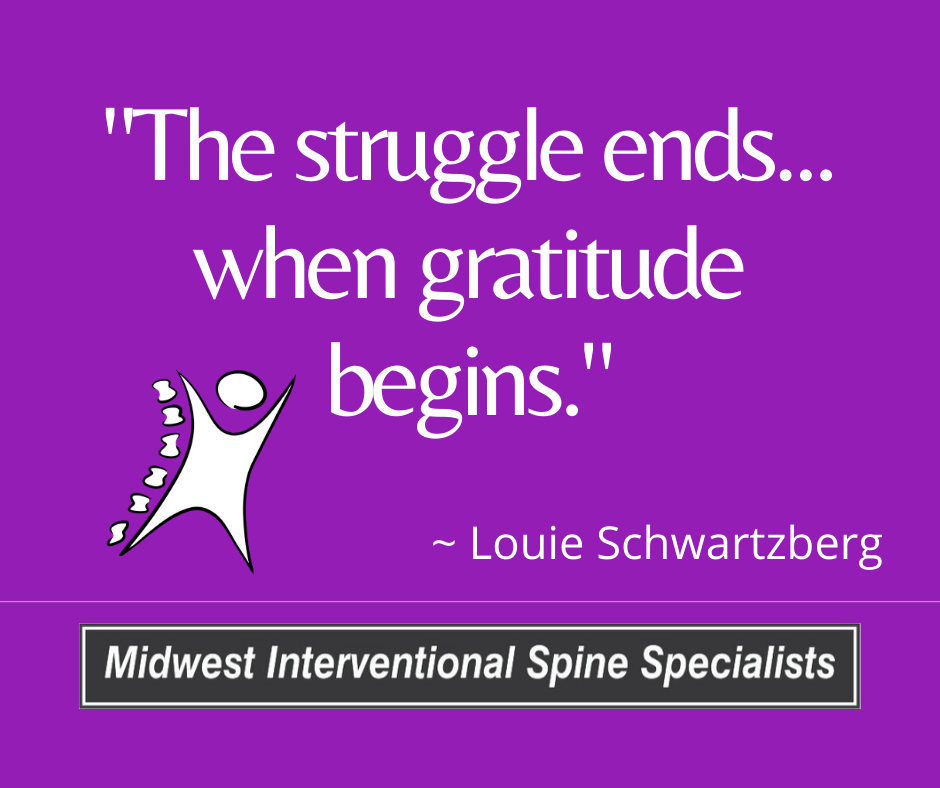 """Inspirational Quote of the Week – """"The struggle ends…"""